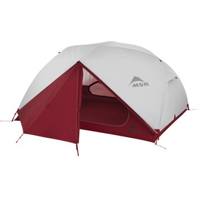 MSR Elixir 3 V2 Tent, gray/red